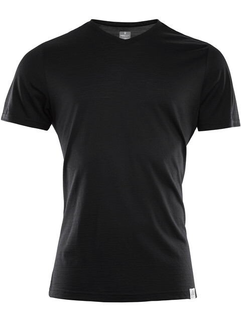 Aclima LightWool T-Shirt Men Jet Black